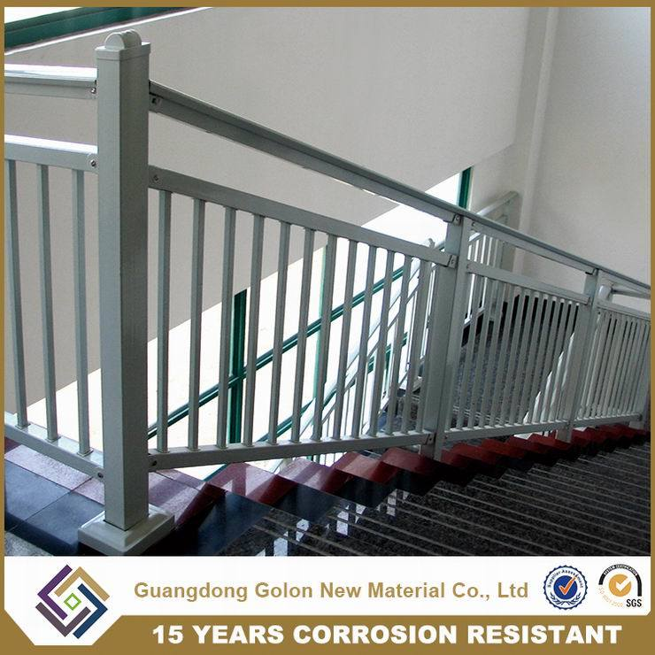 Wought Iron Metal Steel Aluminium Staircase Railing Handrail Balustrade