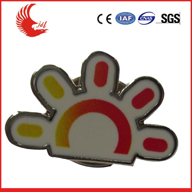 Hot Sale Customized Metal New Logo Badges