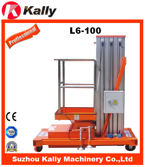 Sole-Supporting Aluminum Alloy Elevator (L6-100)