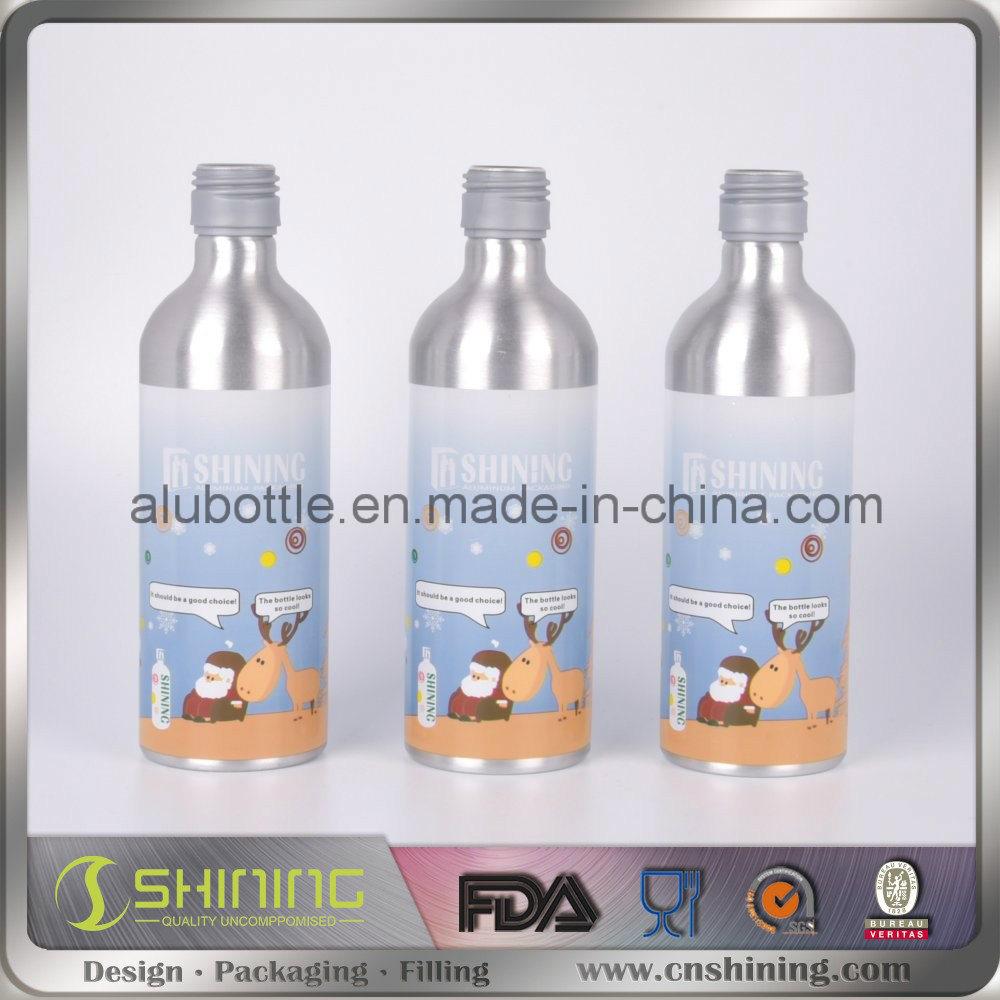 Unique Empty Aluminum Beer Wine Bottles
