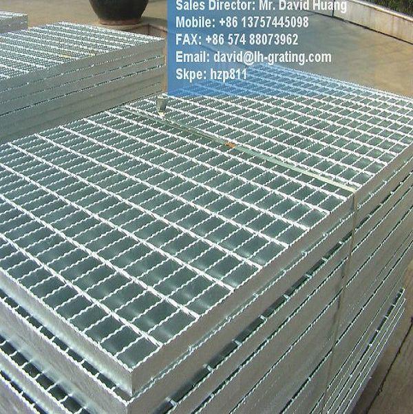 Hot DIP Galvanized Steel Structure Grating for Platform