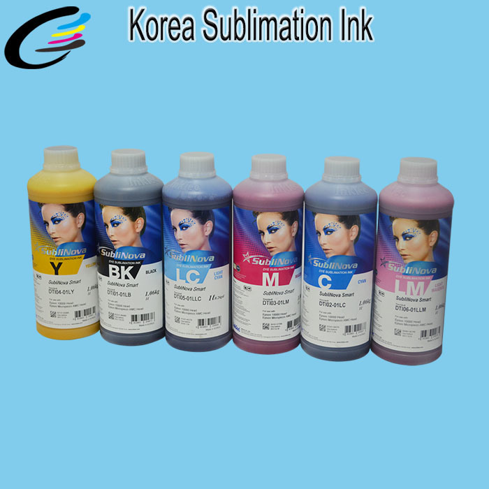 High Transfer Rate Korea Inktec Sublinova Dye Sublimatiion Ink