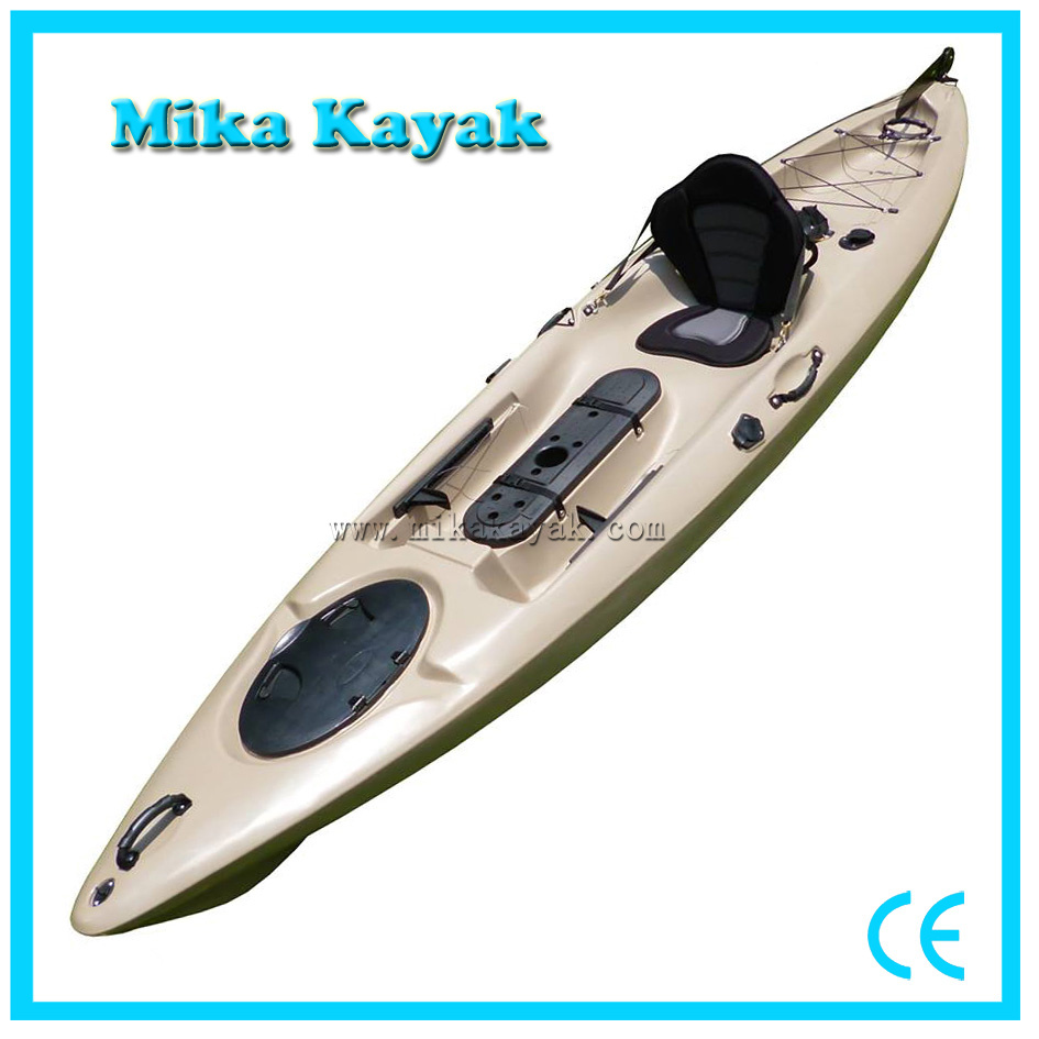 Sit on Top Ocean Fishing Kayak with Pedals Boat for Sale