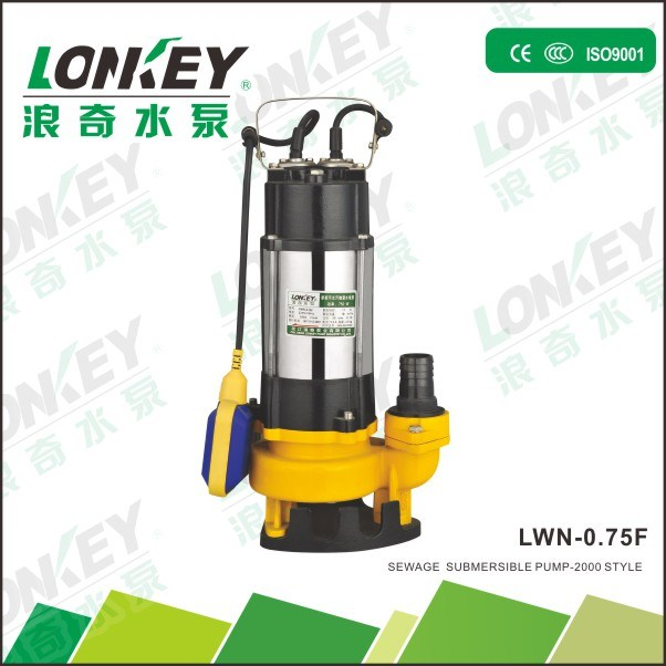 Submersible Sewage Water Pump, Agricultural Submersible Pump