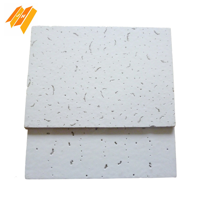 High Quality Sound Proof White Fiber Wool Decorative Board