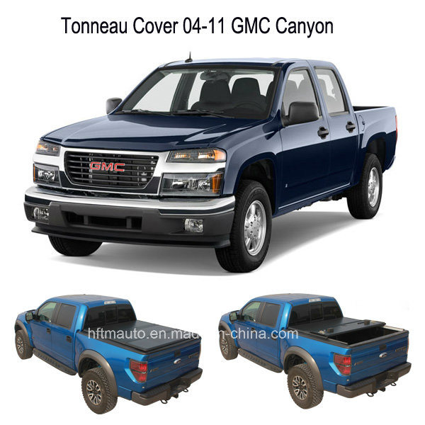Hard Tri-Fold Tonneau Hard Covers for 04-11 Gmc Canyon