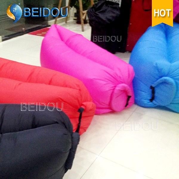 New DIY Cheap Envelope Form Inflatable Hangout Air Sleeping Bags