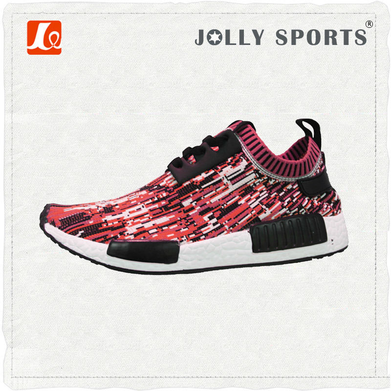 New Design Style Fashion Knit Sports Running Mens Womens Shoes