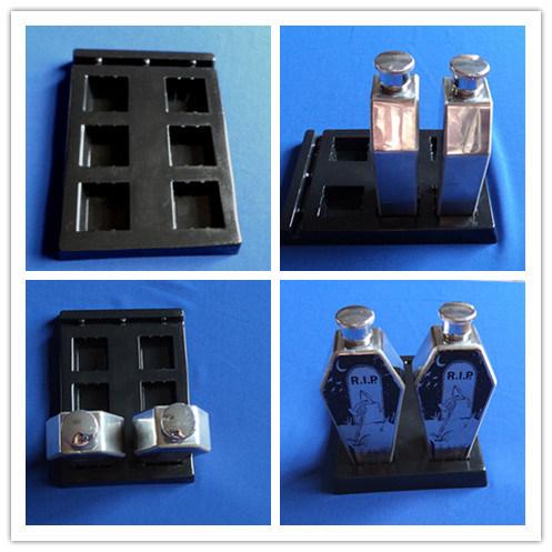 Black PVC Blister Tray for Insert Bottles Plastic Blister Tray