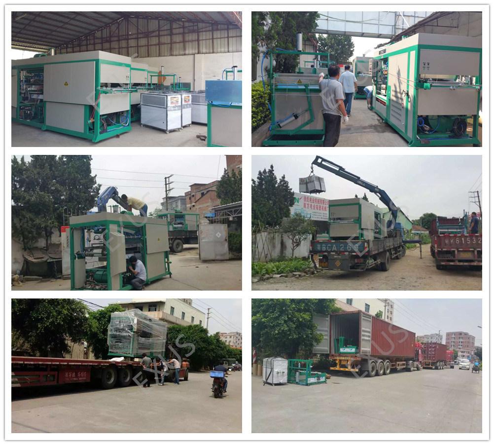 Semi-Auto High Speed Vacuum Thermoforming Machine From China