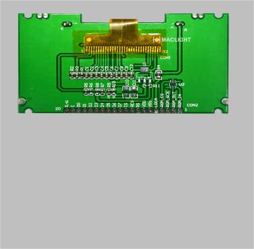 192X64 Dots Graphic Cog LCD Module Display with PCB
