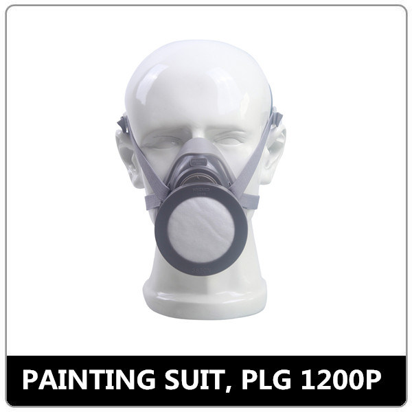 Single Activated Carbon Filter Quarter Gas Mask for Sale