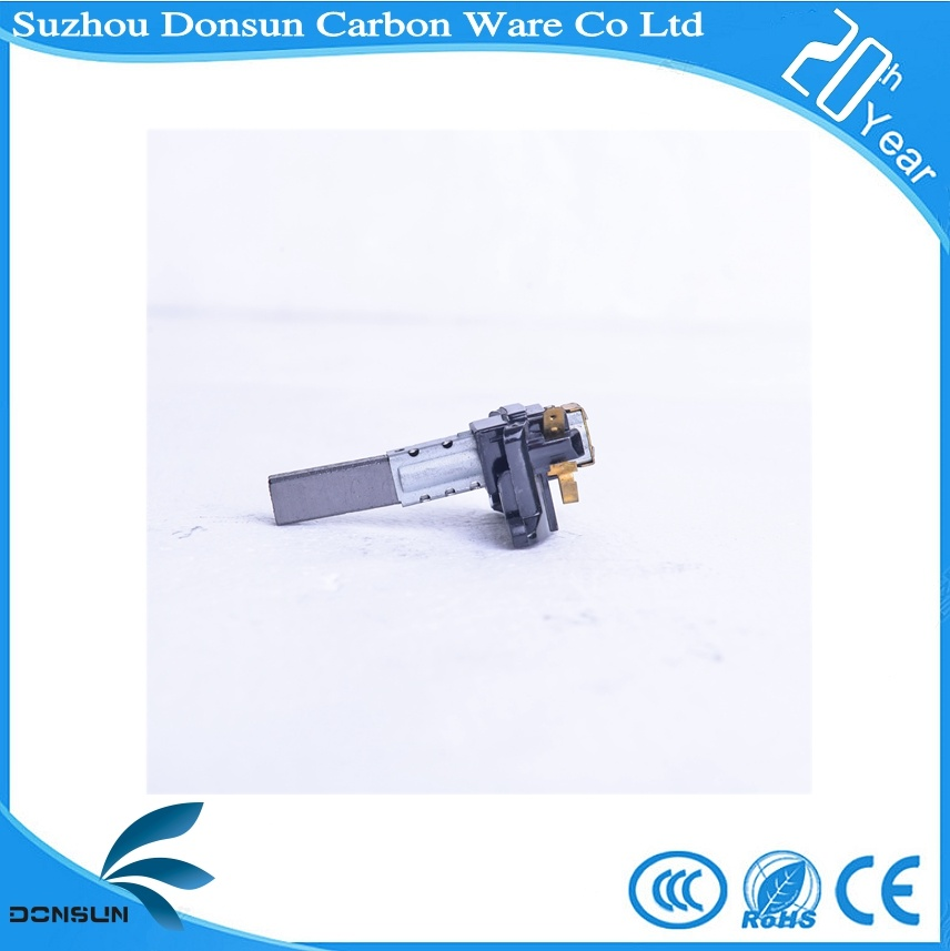 Carbon Brush Assembly for Vacuum Motor