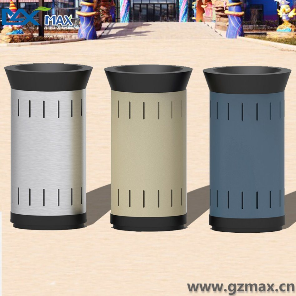 1 Separate Classified Metal Stainless Steel Customized Recycling Trash Bins