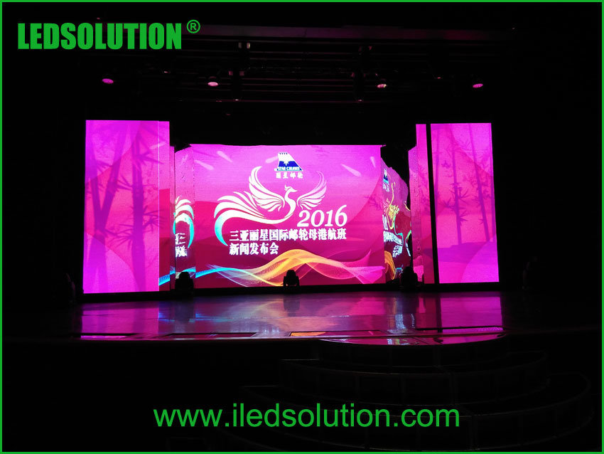 P3.91 Indoor Ultra Light Die-Cast LED Display Screen