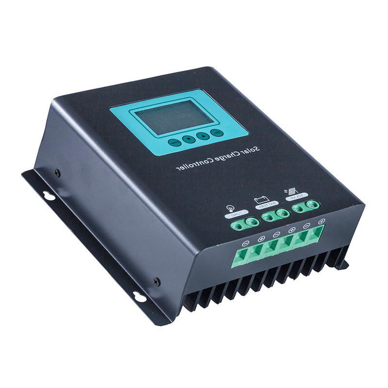 Hot Selling! 30A 40A 60A High Quality PWM/MPPT Solar Charge Controller with LCD Display