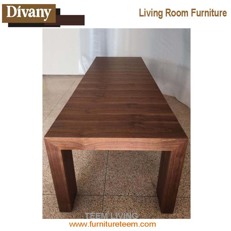 2017 New Dining Room Design Wood Dining Table Set