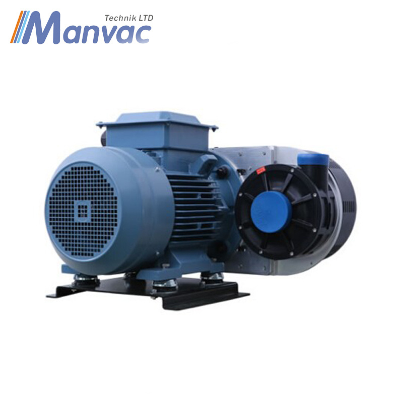 Manvac Industrial Centrifugal Blower with ABB Electric Motor