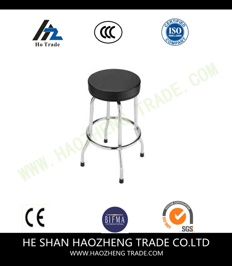 Hzpc066 Martin Black Artisan Plastic Stool Chair