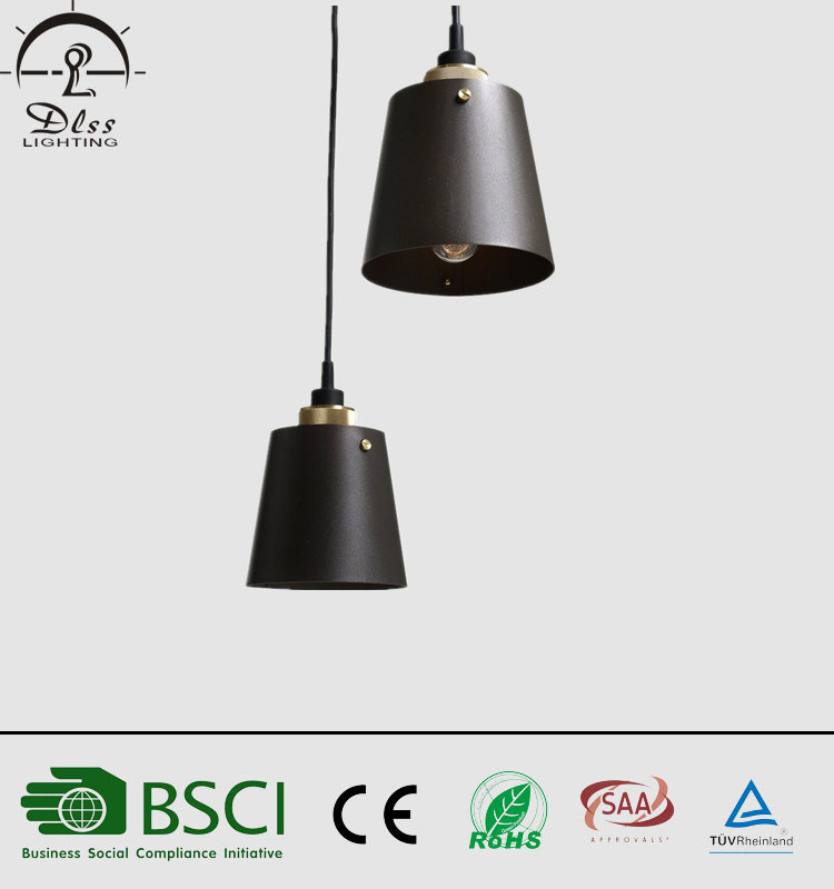 Simple Designs Suspension Metal Pendant Lamp for Lighting