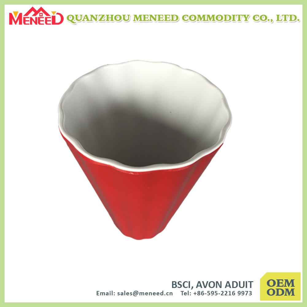 Solid Color Custom Design Print Plastic Melamine Coffee Mug
