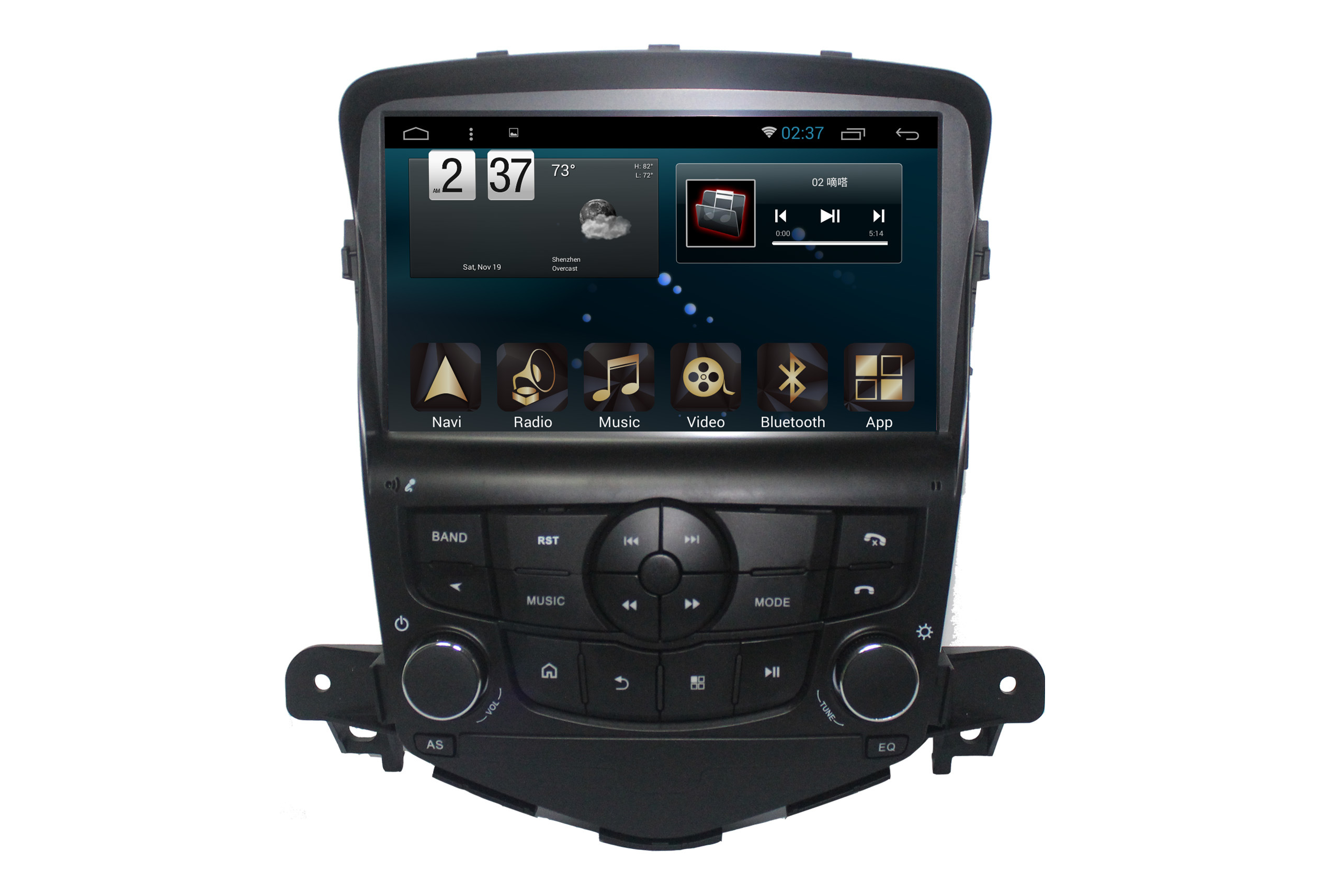 Android 6.0 System Navigation Car GPS for Chevrolet Cruze 2009 with Car Accessories
