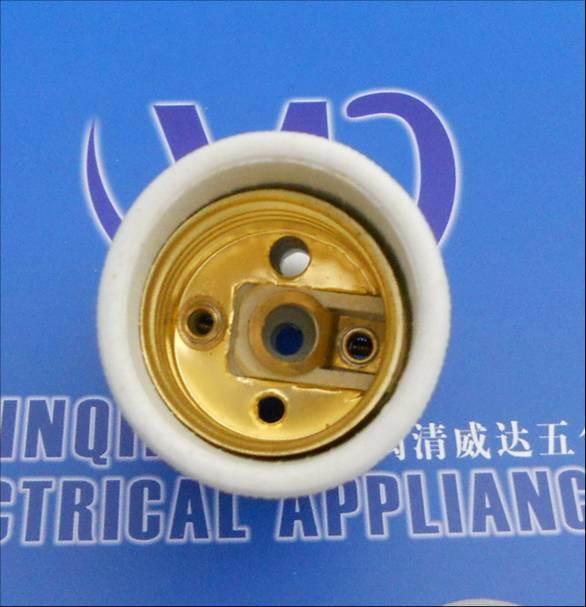 E27 Porcelain Lamp Socket, Lamp Holder
