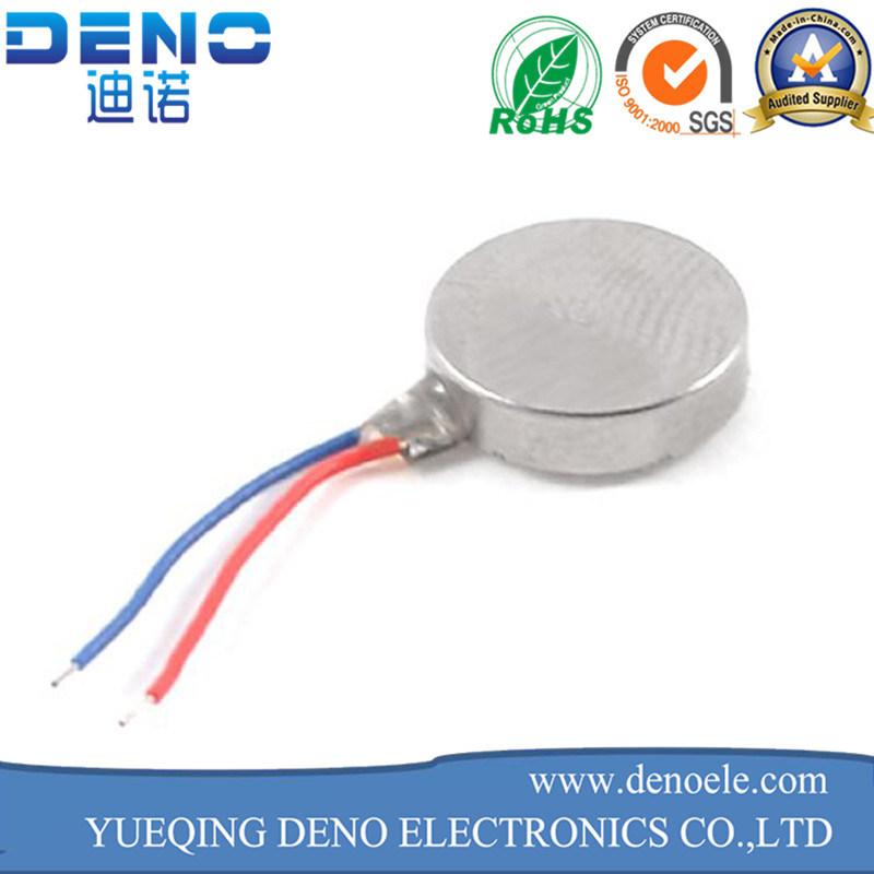 1027 Flat Vibrating Vibration Motor - Silver