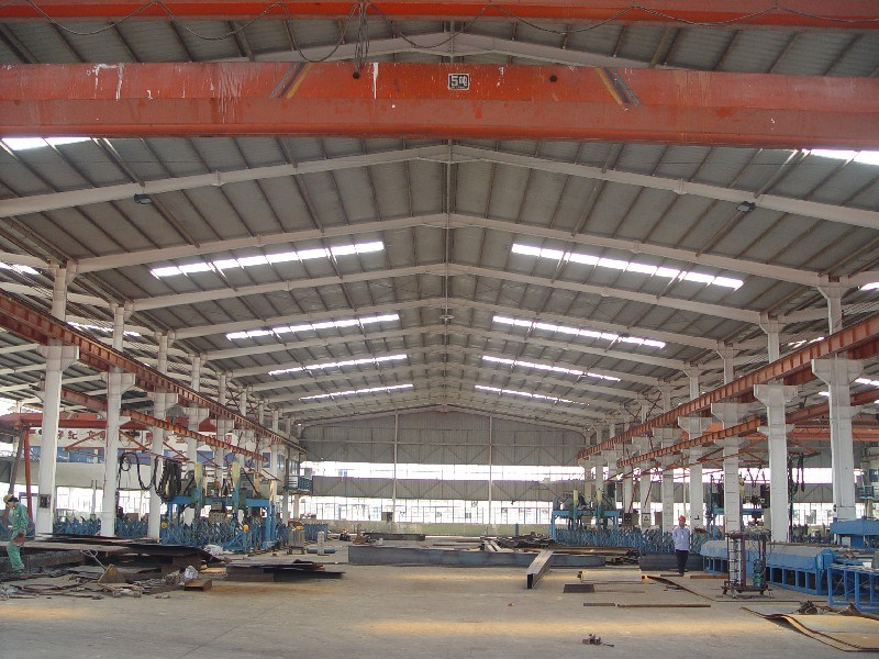 China Steel Structure Erection and Fabrication with Q345 Material