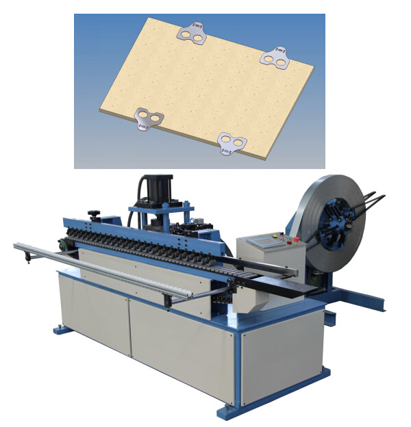 Automatic Collapsible Plywood Box Making Steel Buckle Machine