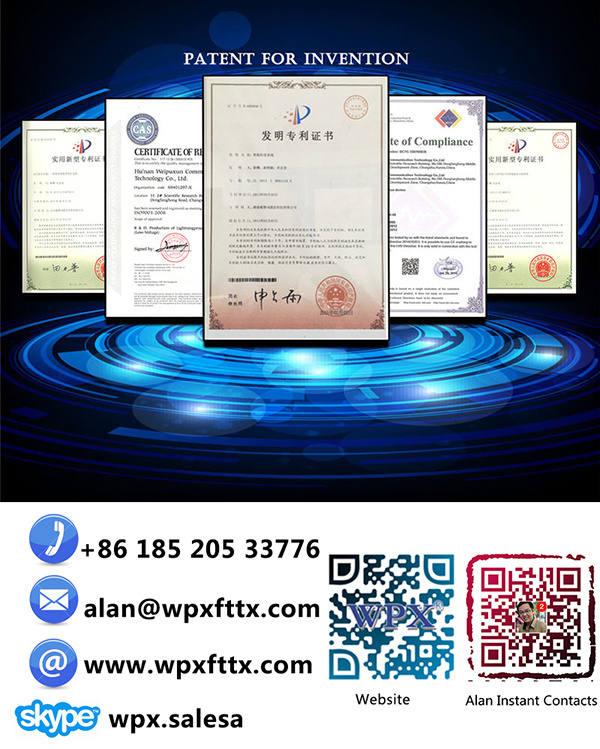 1fe+WiFi Epon ONU Gpon Ont for FTTX (WPX-EU9091) Optical Network Unit Modem
