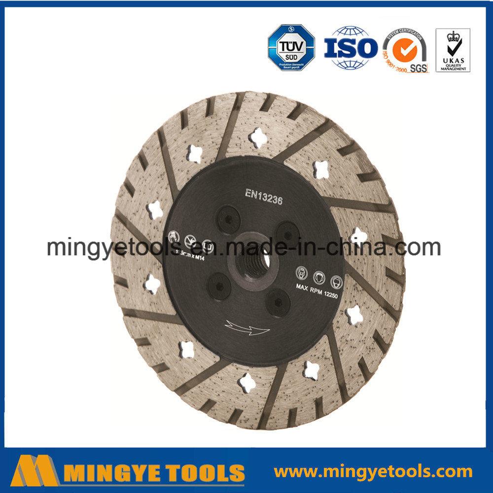 Turbo Diamond Saw Blade/Diamond Disc with Flange
