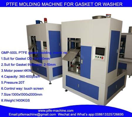 GMP-500L PTFE Gasket Molding