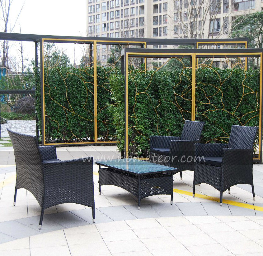 Garden Wicker Rattan Furniture Kd Structure Chair for Outdoor (MTC-055)