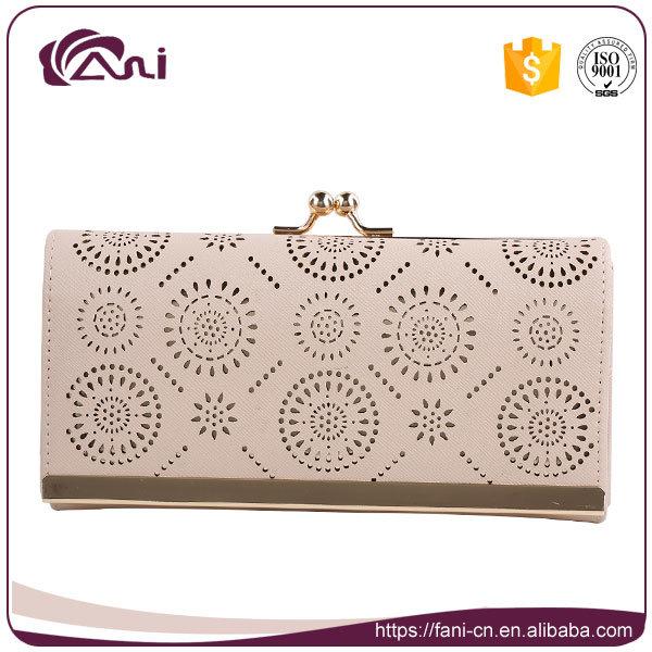 Fani Custom Fashion Wallet, Guangzhou PU Leather Wallet Women 2017