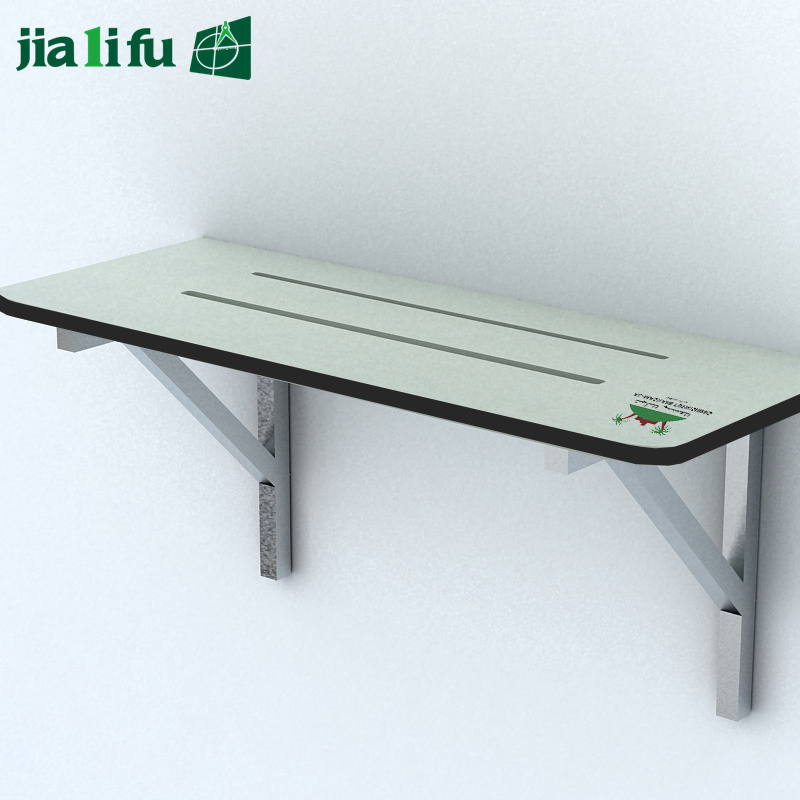 Hot Selling Green Compact Laminate Panel Changing Room Bench