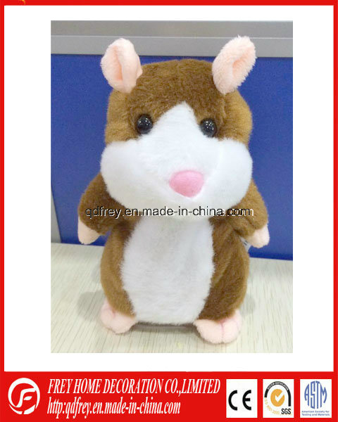 Hot Sale Talking Cute Hamster Toy with Music