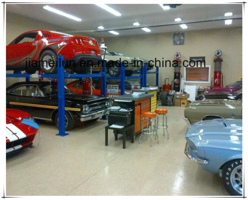 Car Storage Hydraulic Four Post Car Lift