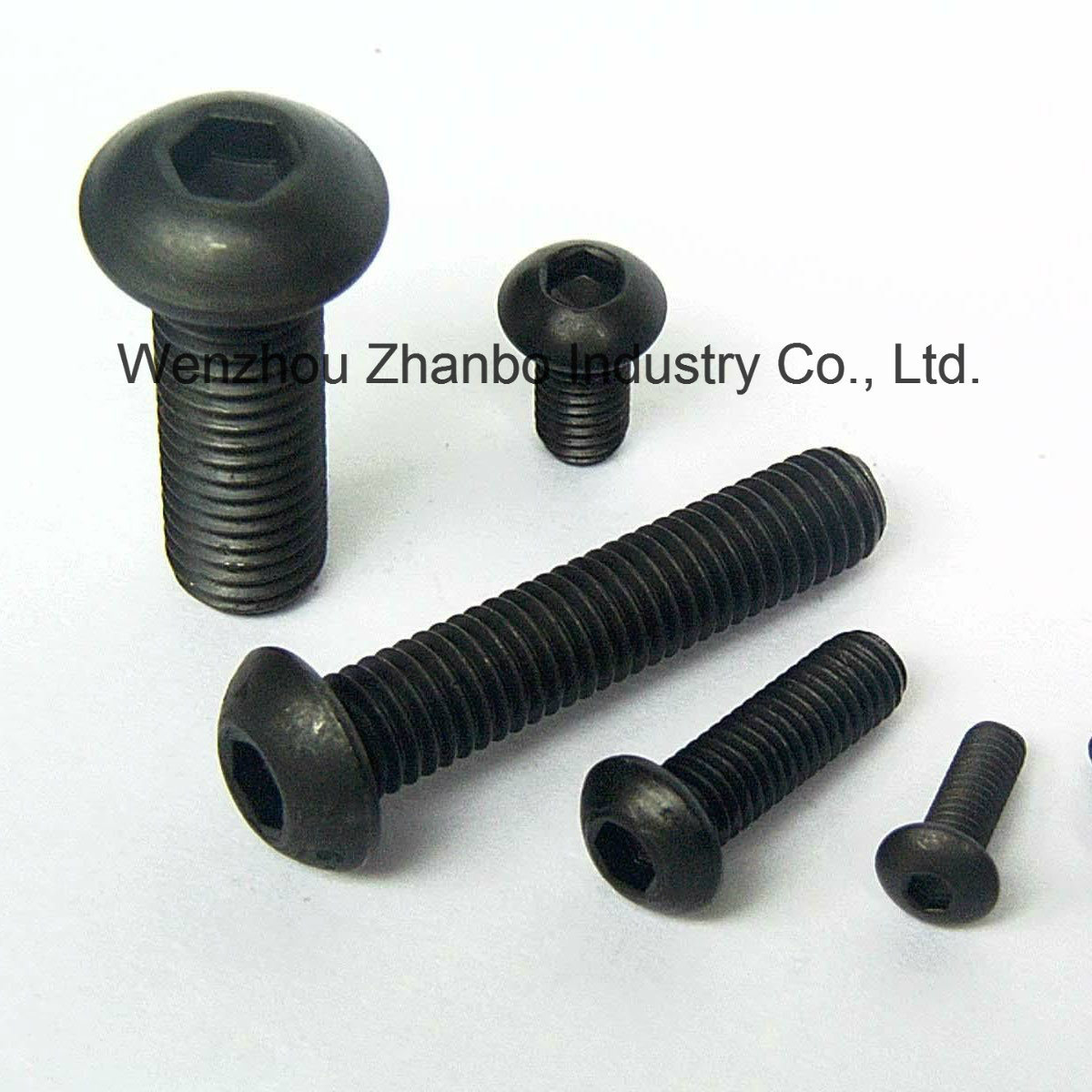 High Strength Steel, Hexagon Socket-Head Cap Screws 12.9 10.9 8.8, 4.8 M6-M20, DIN912