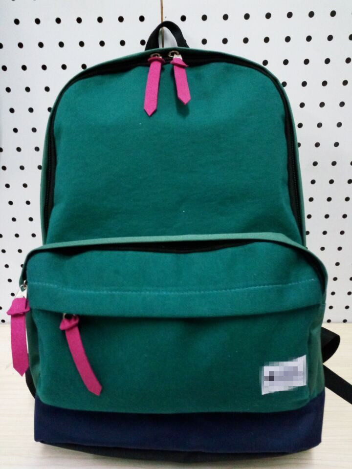 Fashion School Kid with Cotton Business Backpack Sport Travel Casual Promotional Bag (#20017)