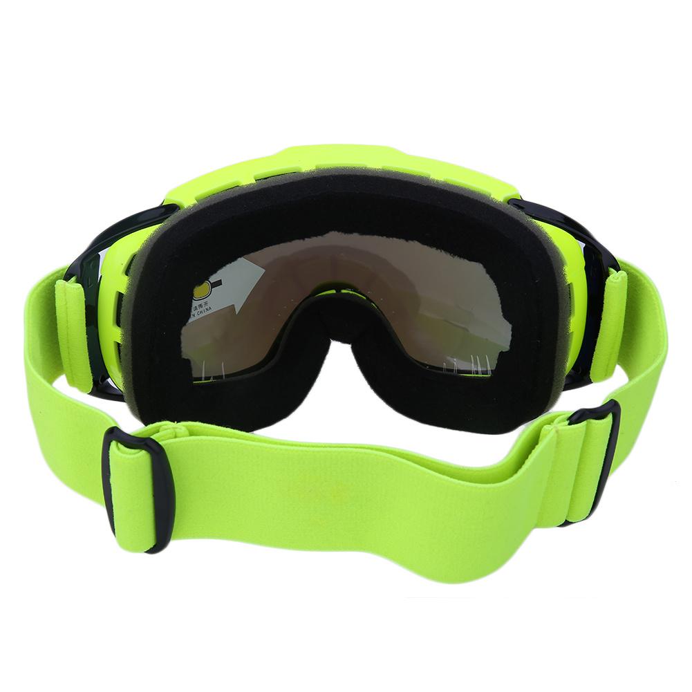 Frameless Anti-Fog Lens Ski Goggles, Snow Goggles