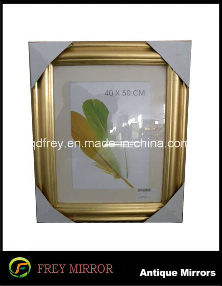 Art Minds Wood Crafts for Champagne Silver Picture Frame
