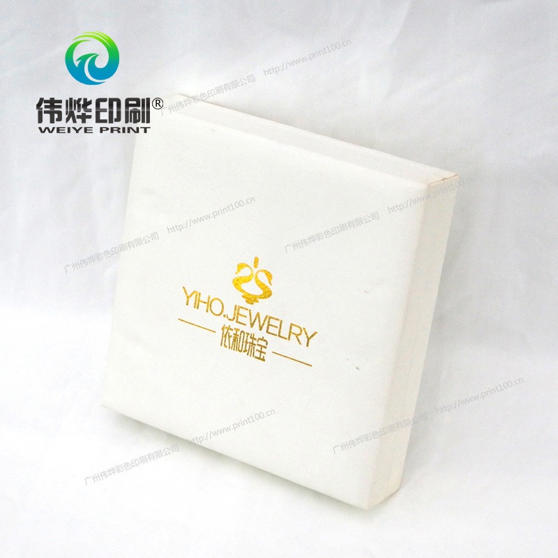 Cardboard Jewellery Printing Box Packaging with Hot Stamping