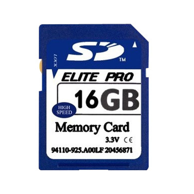 Customized SD Card High Speed 16GB Camera SD Card Cid Number SD Card
