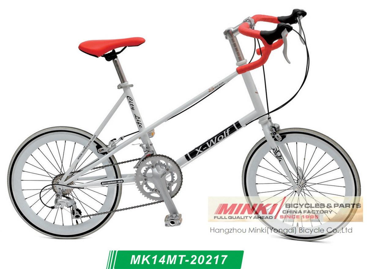 20 Inch Alloy14 Speed Mini Velo Road Bike