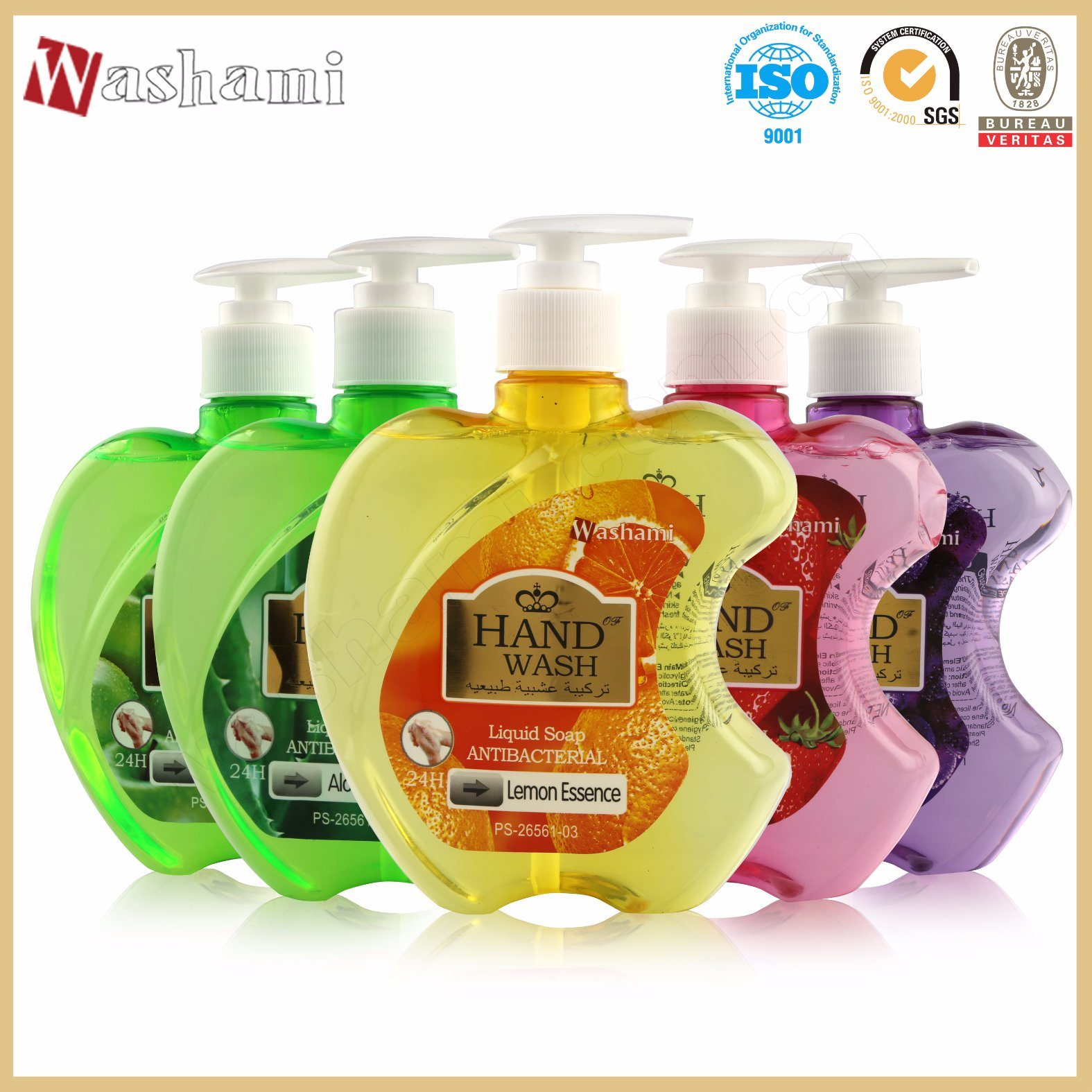 Washami 24 Hour Care Antibacterial Liquid Soap Hand Wash