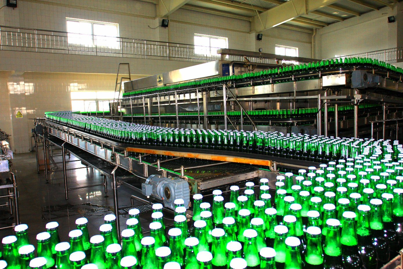SGS BCGF24-24-6 Glass Bottle Beer Washing Filling Capping 3-in-1 Machine