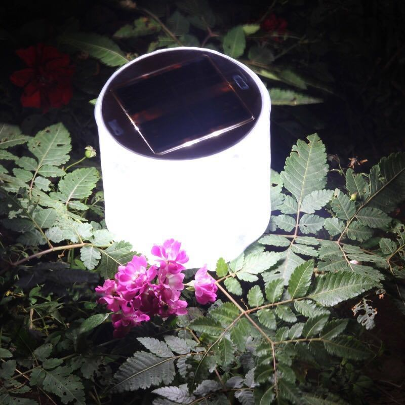 Hot Sale Portable Rechargeable Waterproof Solar LED Light Inflatable Solar Lantern for Outdoor Camping & Household