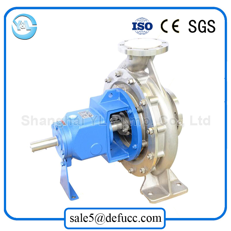 High Efficiency End Suction Centrifugal Water Pump with Stainless Steel