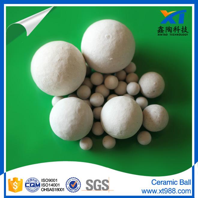 3-50mm Inert Alumina Ceramic Ball as Catalyst Support Media